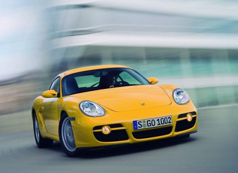 Auto Porsche Cayman 2006