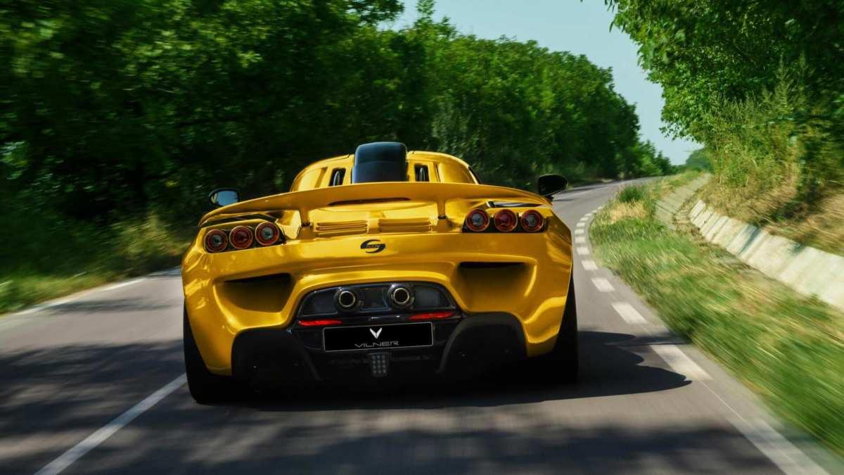 Sin R1 rear view