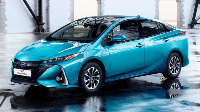 New look of Toyota Prius