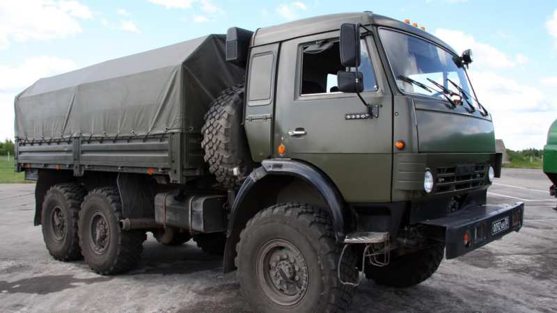 KAMAZ's drone control – its potential was filmed on video