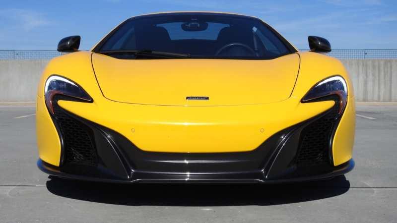 McLaren 625C front view