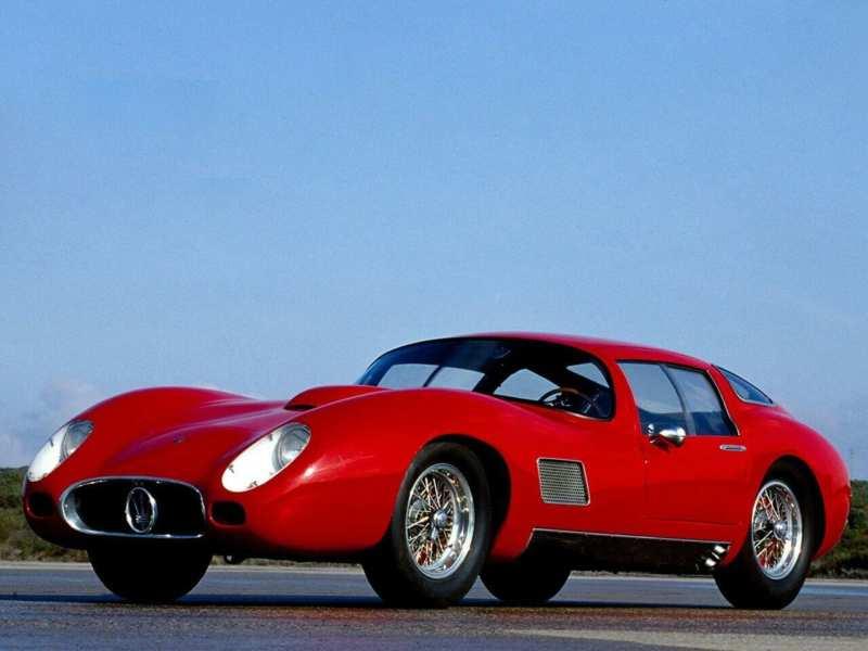 Photo of the Maserati 450S Costin-Zagato