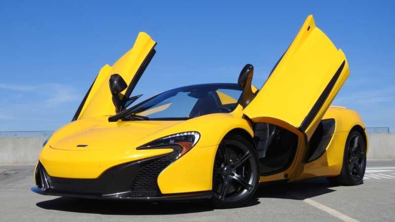 McLaren 625C photo auto