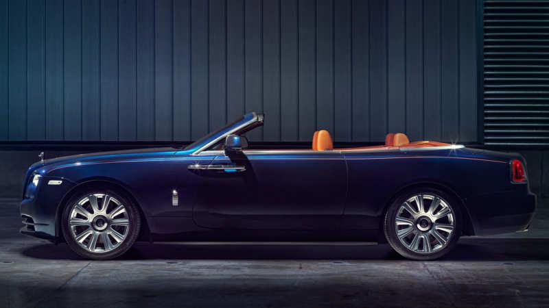 Rolls-Royce has shown everyone the Dawn