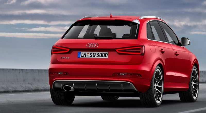 Audi RS Q3 rear view