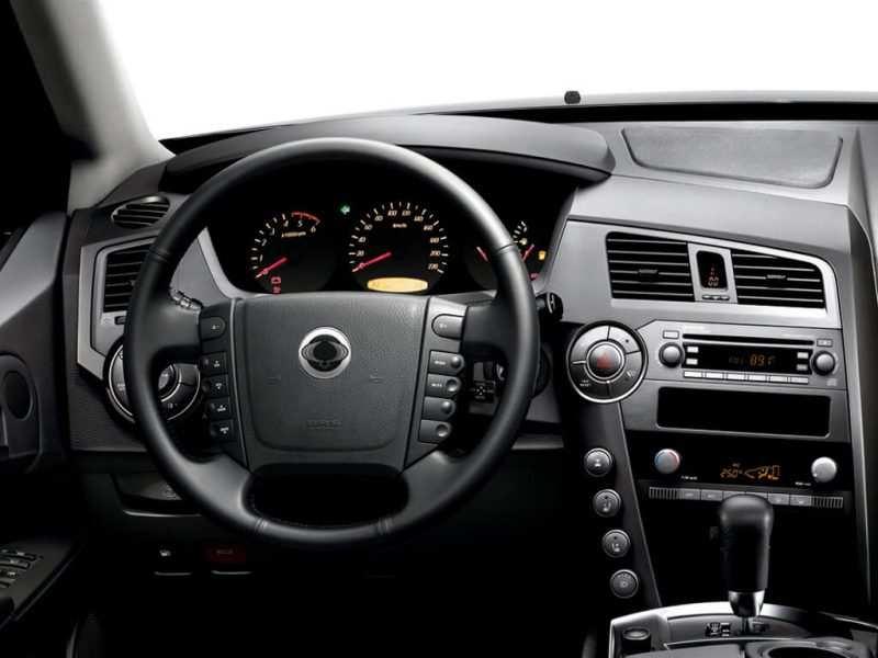 SsangYong Kyron steering wheel