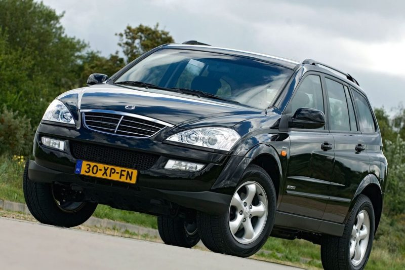 Photo of the new SsangYong Kyron
