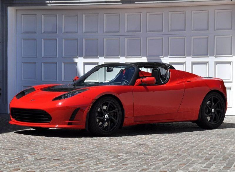 Photo of a Tesla Roadster