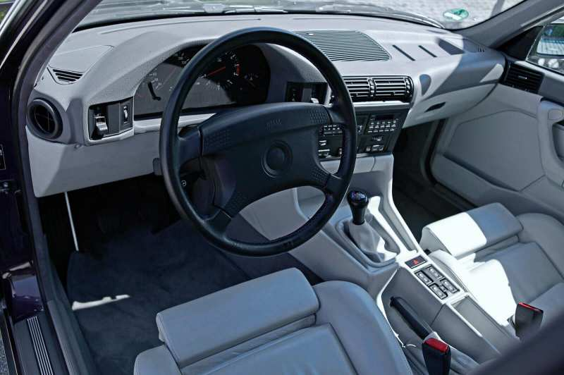 Interior BMW M5 (E34)