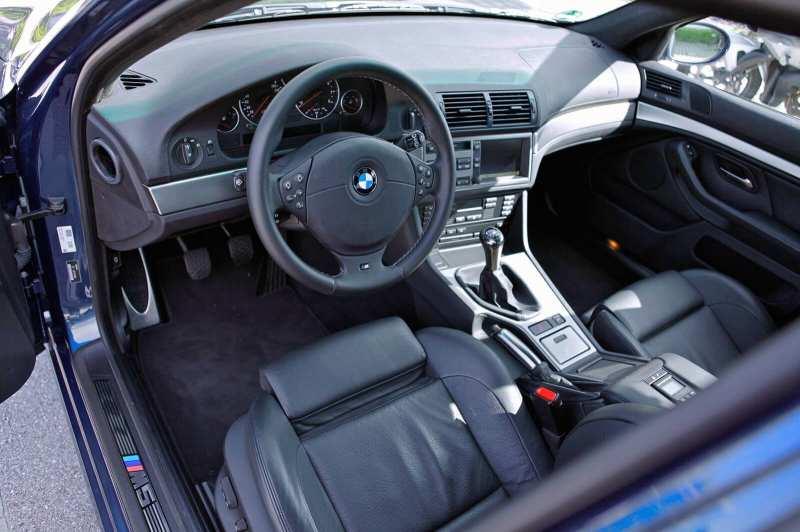 Interior BMW M5 (E39)