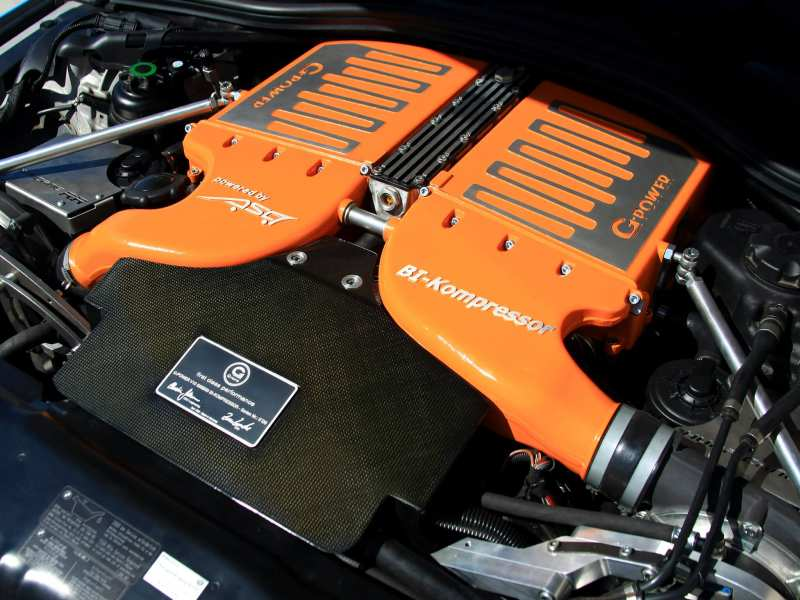 BMW M5 (E60) motor