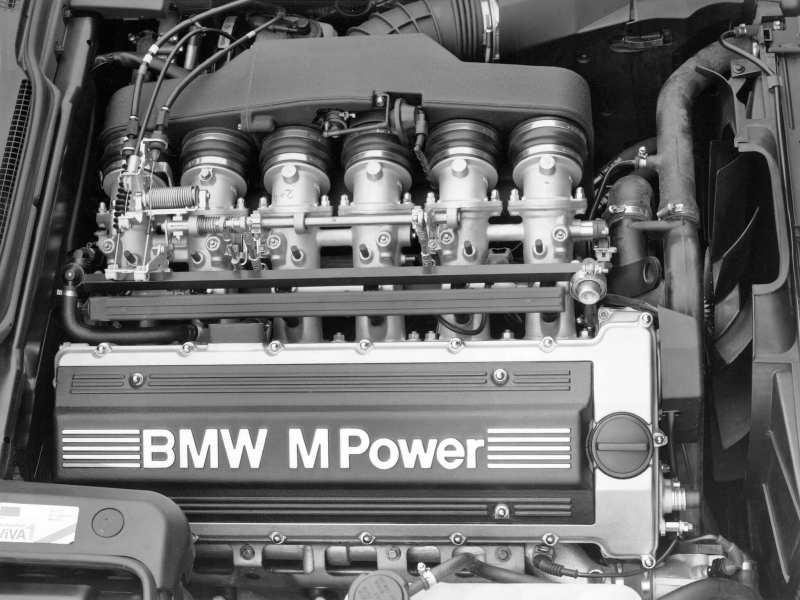 Двигатель BMW M5 (E34)