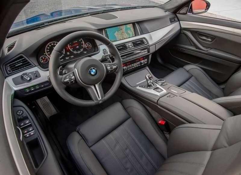 Interior BMW M5 (F10)