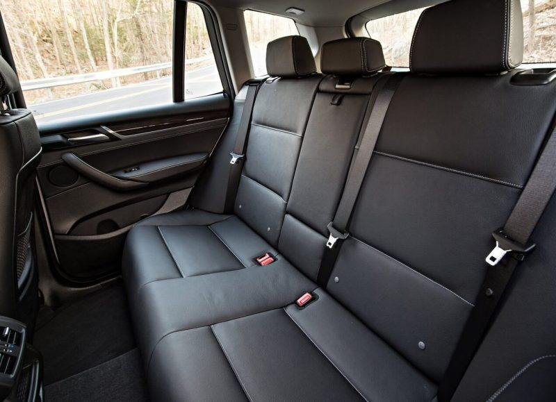 BMW X3 rear sofa