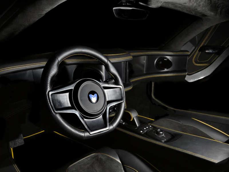 Interior of Marussia B2