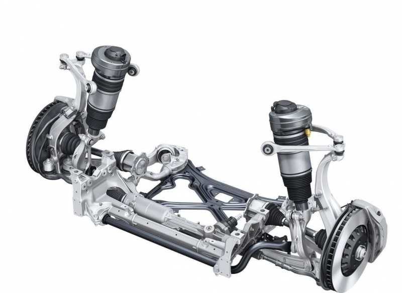Audi Q7 front suspension