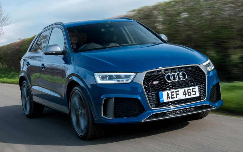 An Audi who could: The RS Q3 model became even more powerful