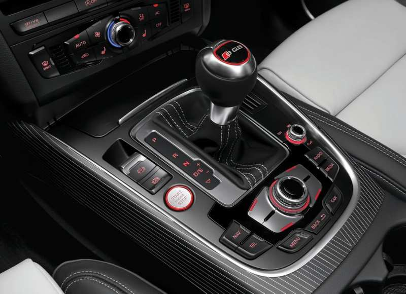 Audi SQ5 gearbox