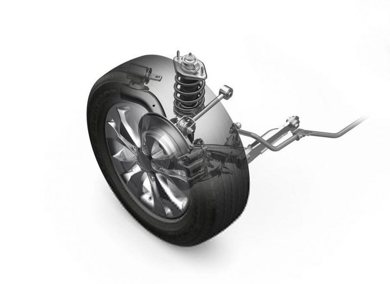 Honda CR-V rear suspension