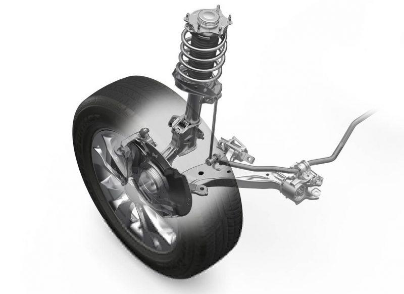 Honda CR-V front suspension