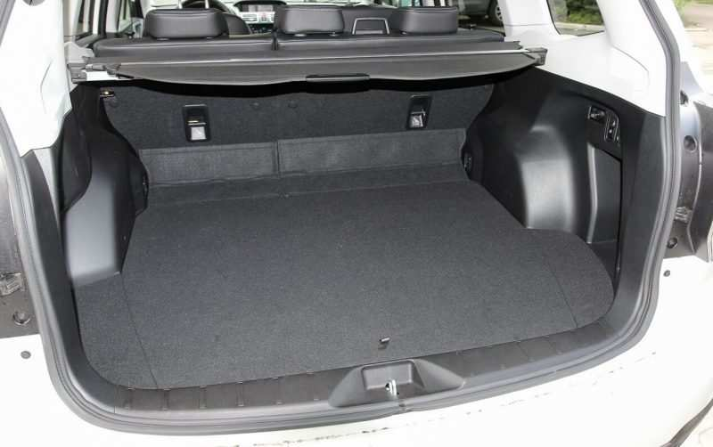 Luggage compartment Subaru Forester 4