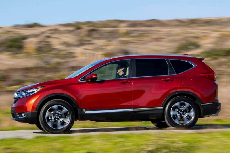 Honda CR-V side view