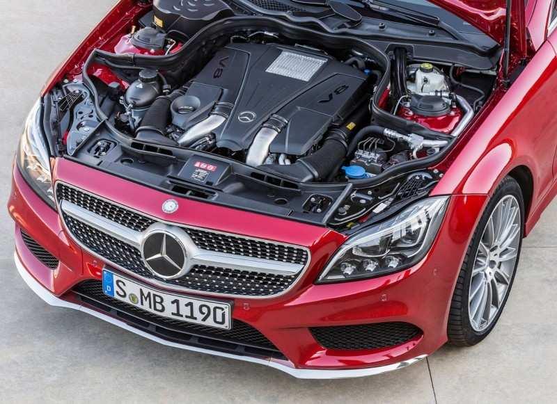 Mercedes-Bens CLS-Class Engine