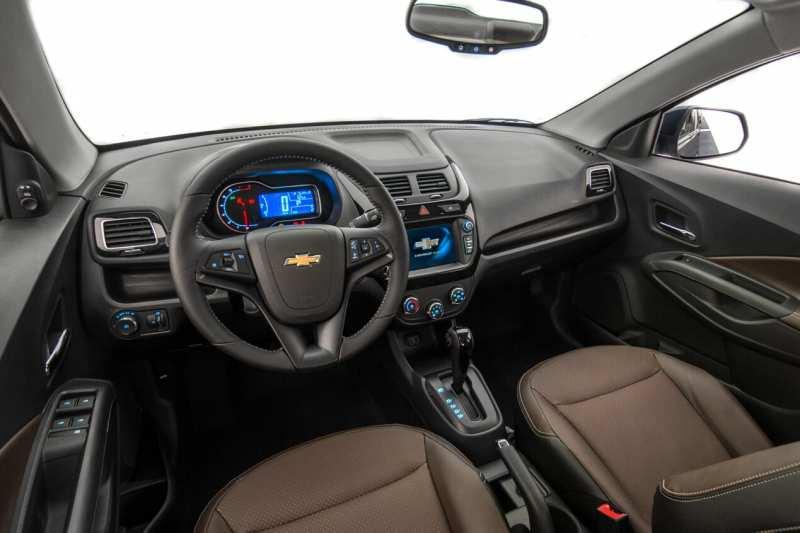 Interior of Chevrolet Cobalt