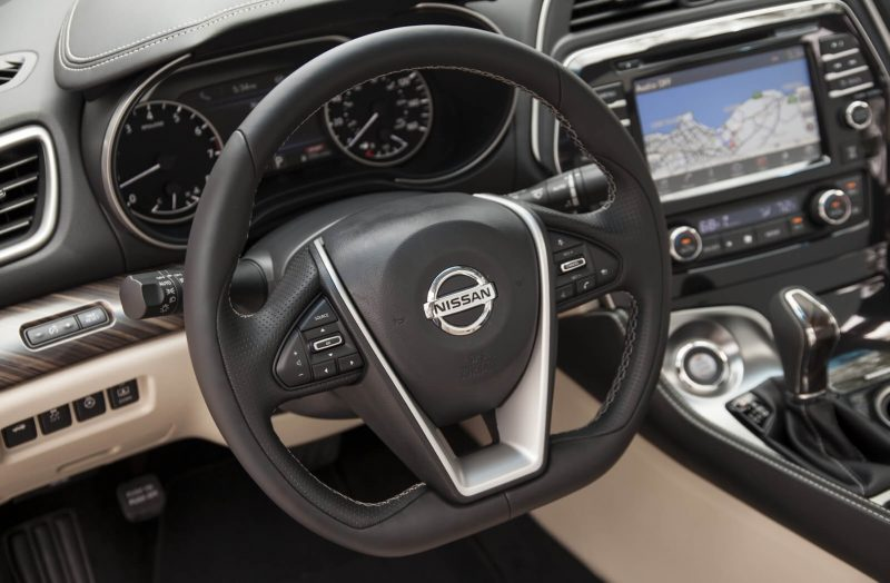Nissan Maxima steering wheel