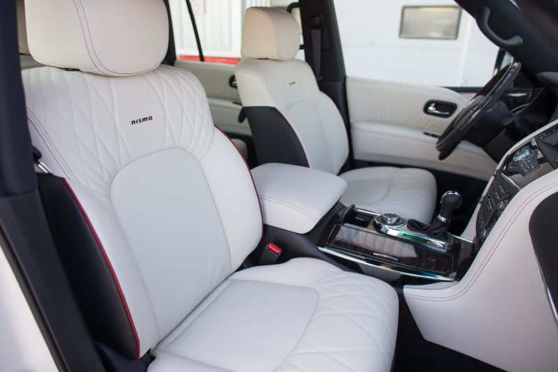 Nissan Patrol front seats