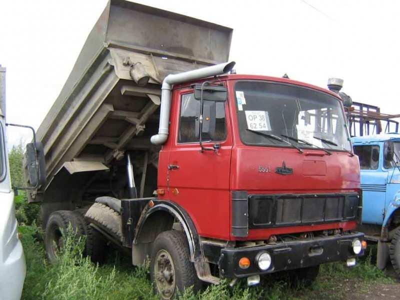 MAZ-5551 car