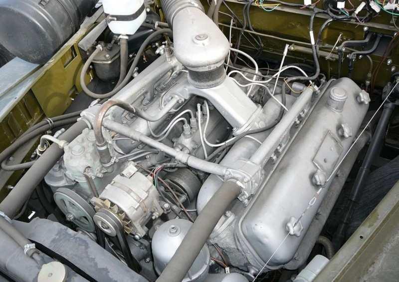 Ural-4320 engine