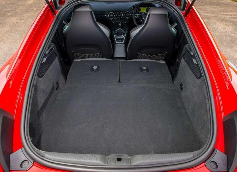 Audi TT trunk