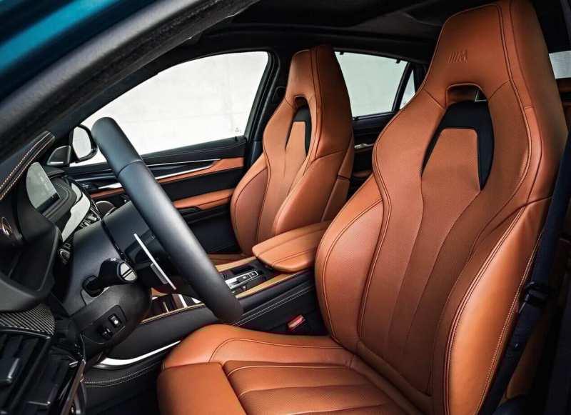 BMW X6M Salon