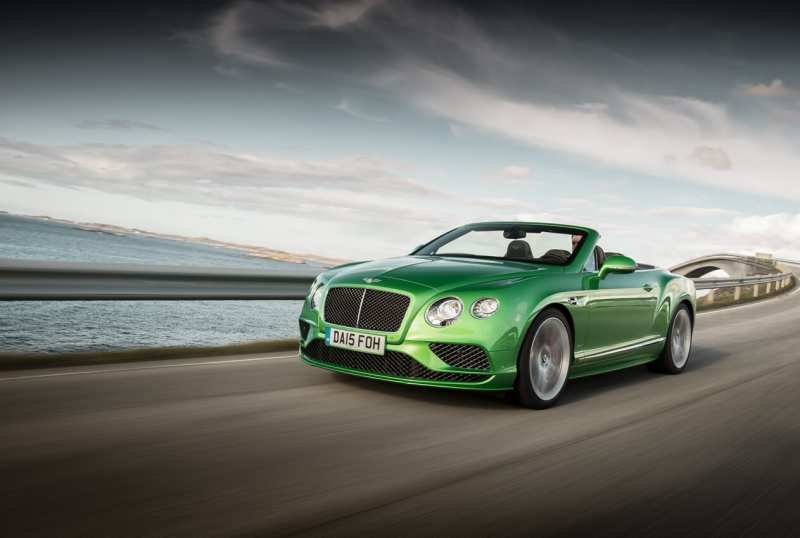 Bentley Continental GT photo car