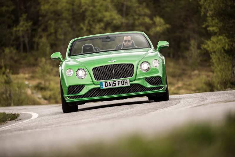 Bentley Continental GT front view