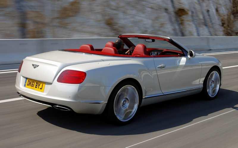 Photo of auto Bentley Continental GTS