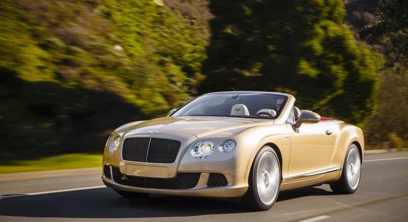 Bentley Continental GTS Convertible 2