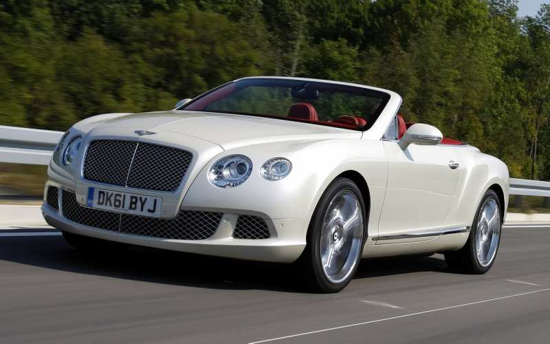 Photo of the Bentley Continental GTS