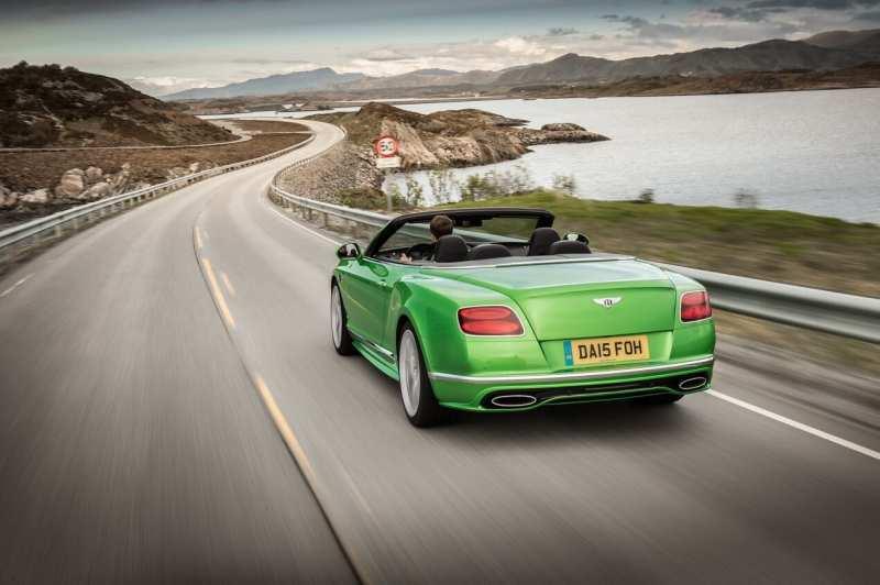 Bentley Continental GT rear view