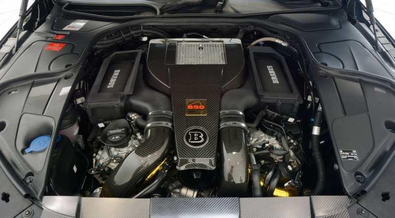 Brabus 850 6.0 Biturbo engine