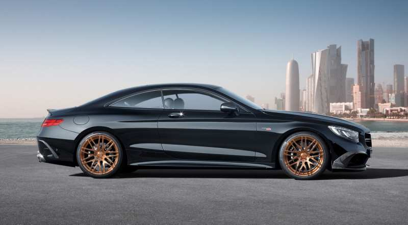 Brabus 850 6.0 Biturbo Coupe side view