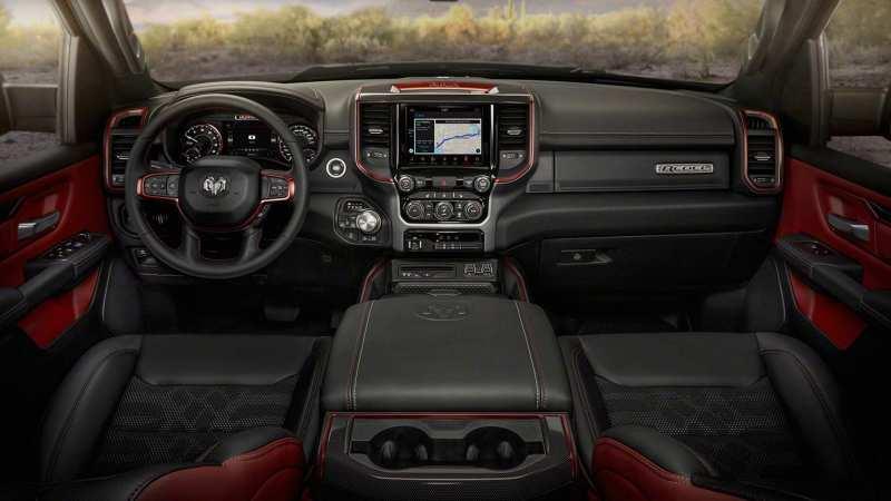 Interior Dodge Ram 1500 Rebel