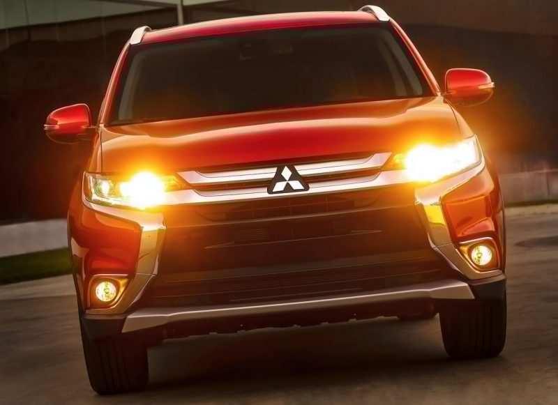 Photo of the new Mitsubishi Outlander