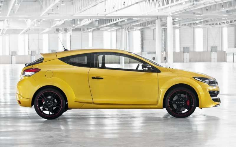 Side view of Renault Megane R.S.