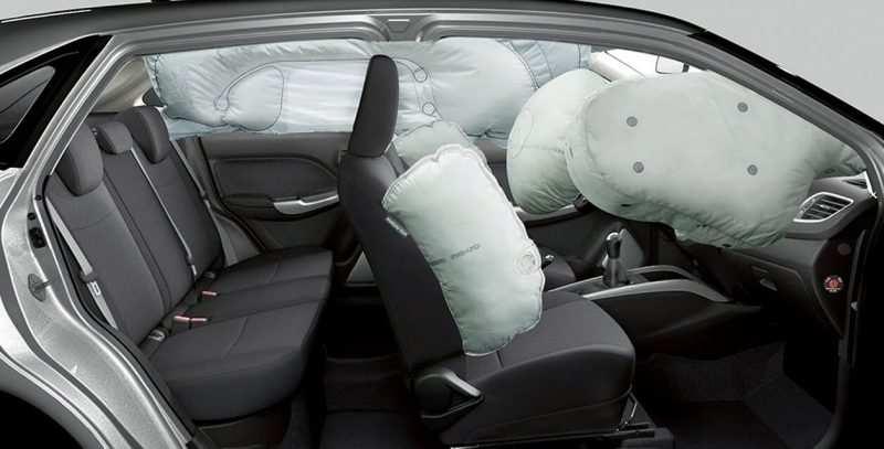 Suzuki Baleno airbags
