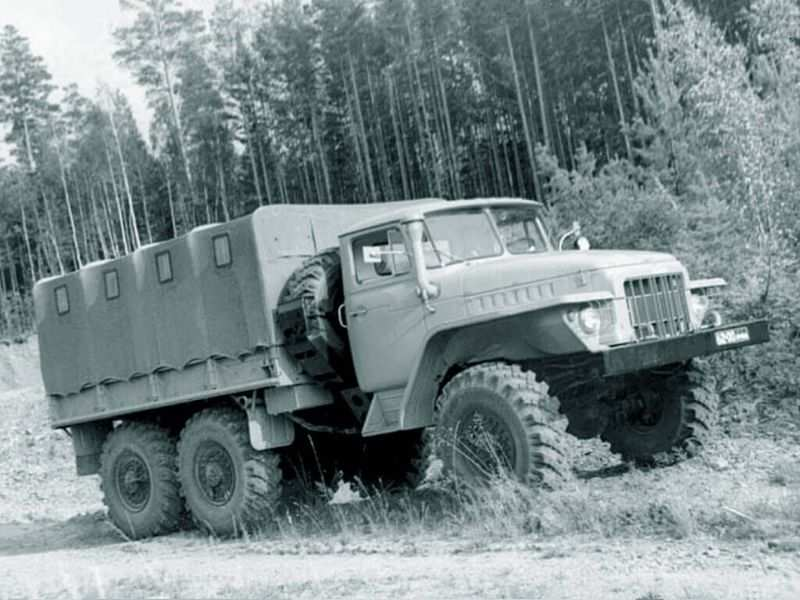 Ural-375 truck