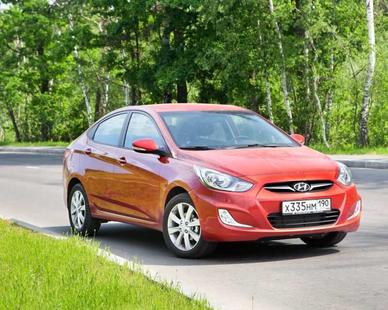 Updated Hyundai Solaris