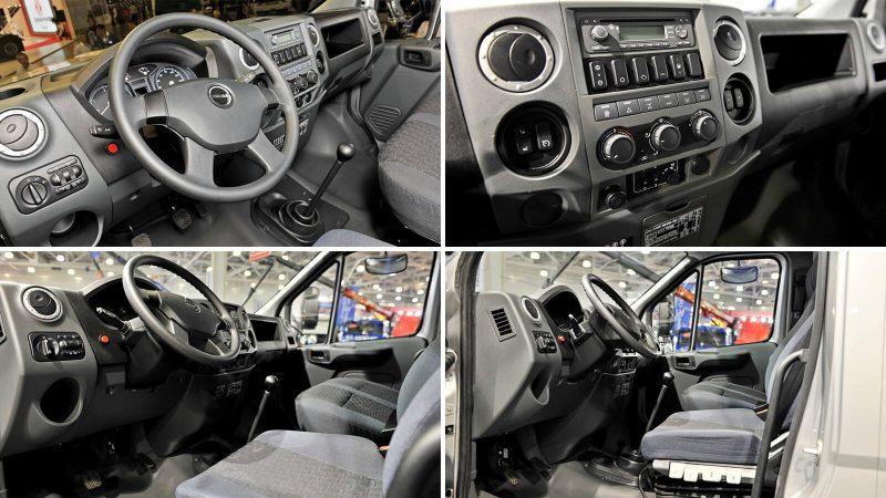 Ural-Next interior