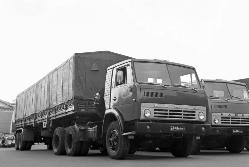 Auto KamAZ-5410 1976